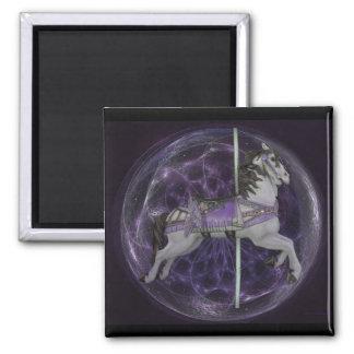 Lavender-Dream Square Magnet