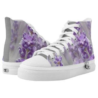 Lavender dreams. printed shoes