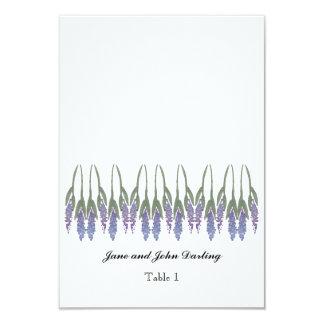 Lavender Escort Card