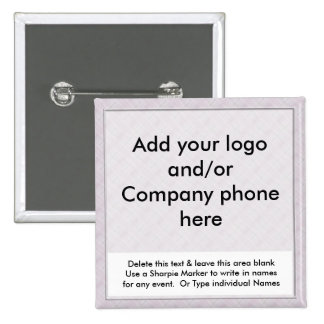Lavender Event Business Name Badges Tags Pins