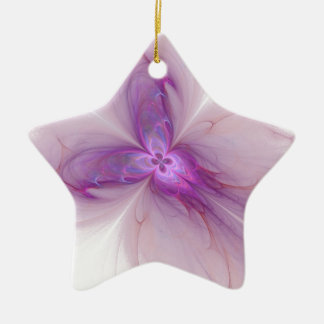 Lavender Fairy Christmas Ornament