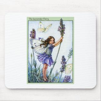 Lavender Fairy Mouse Mat