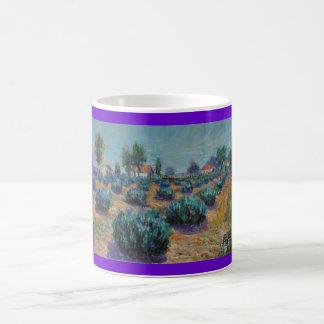 Lavender Farm Coffee Mugs