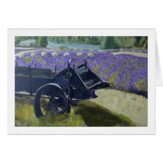 """""""Lavender Field"""" by Trina Chow Card"""