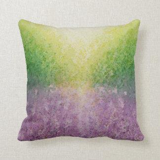 Lavender field cushion