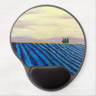 Lavender Field (French Landscape) - K.Turnbull Art Gel Mouse Mat