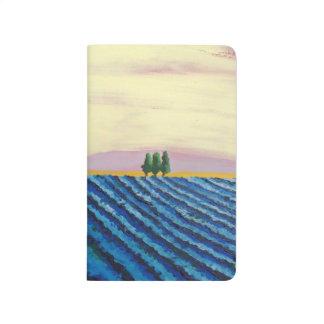 Lavender Field (French Landscape) - K.Turnbull Art Journal