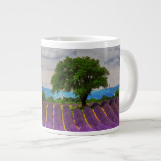 Lavender Field scenic, France Large Coffee Mug