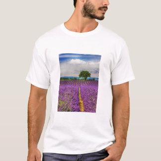Lavender Field scenic, France T-Shirt