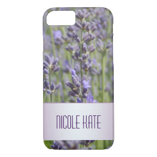 Lavender fields iPhone 7 case