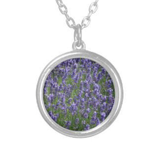 Lavender fields Kent UK Personalized Necklace