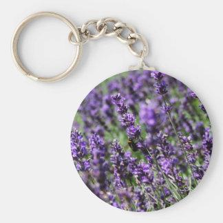 Lavender Fields Keychain
