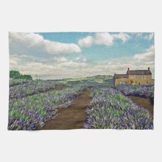 Lavender Fields Kitchen Towel