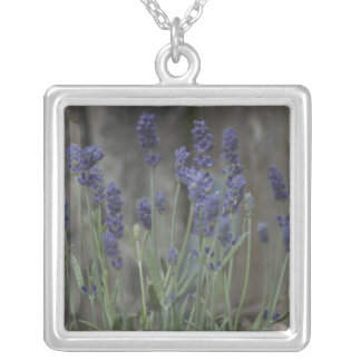 Lavender Fields Silver Plated Necklace