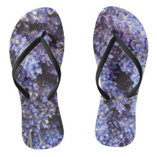 Lavender Flip Flops