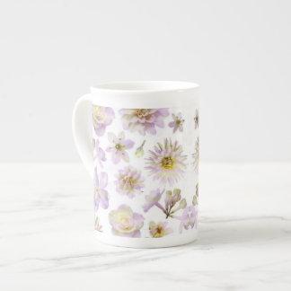 Lavender Floral Deco Bone China Bone China Mug