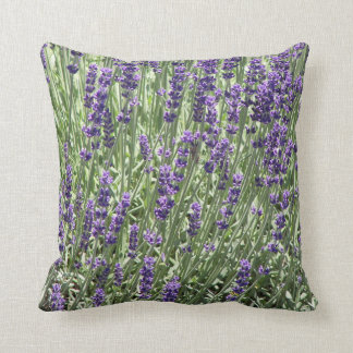 Lavender Flowers Floral Cushion