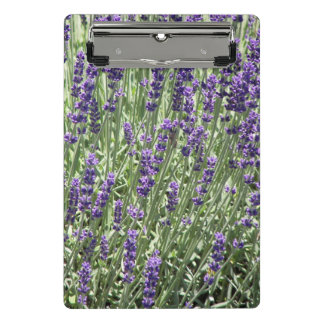 Lavender Flowers Floral Mini Clipboard