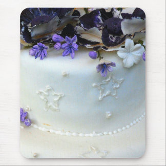 Lavender flowers mouse pad