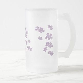 lavender flowers mug
