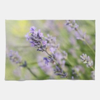 Lavender Flowers. Tea Towel