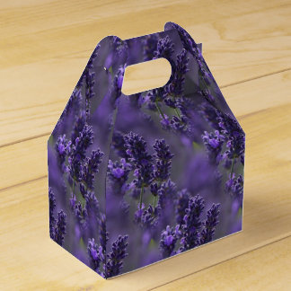 Lavender Gable Favor Box