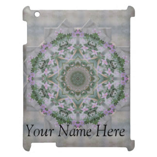 Lavender Garden Mandala iPad Case