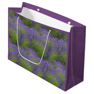 Lavender Gift Bag - Large, Glossy