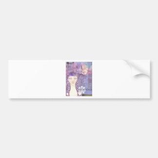 lavender girl.jpg bumper sticker