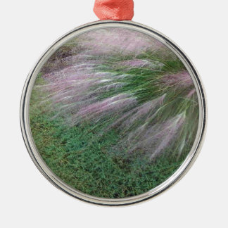 Lavender Grass Christmas Ornament