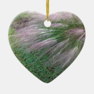Lavender Grass Christmas Ornament