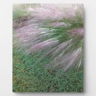 Lavender Grass Plaque