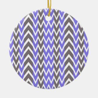 Lavender Gray Hump Christmas Ornament