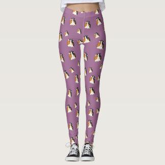 Lavender Guinea Pig Leggings