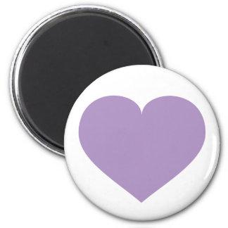 Lavender heart magnet