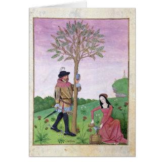 Lavender, Hellebore, & relative of Cucumber Card