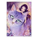Lavender Illusion - blank card