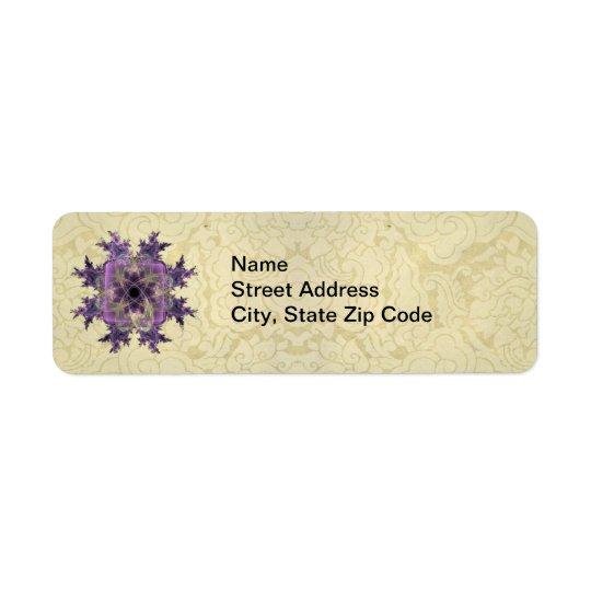 Lavender Ink Blot