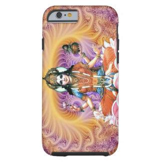 Lavender Lakshmi fractal Tough iPhone 6 Case