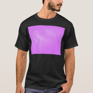 Lavender Leather Look T-Shirt