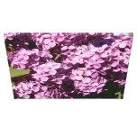 Lavender Lilacs Gallery Wrap Canvas