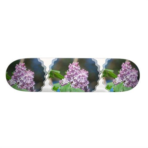 Lavender Lilacs Skateboard