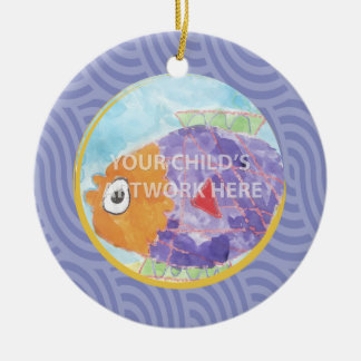 Lavender Loop Ornament