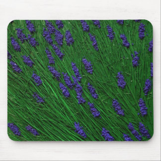 Lavender meadow mouse mat