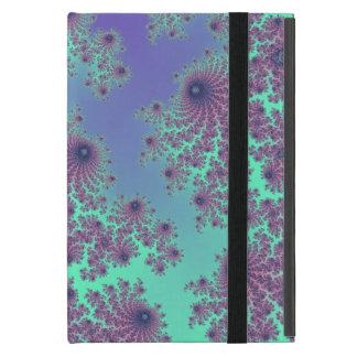 Lavender Mint Fractal Lace Case Case For iPad Mini