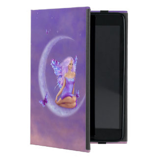 Lavender Moon Fairy Art iPad Mini Case