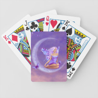 Lavender Moon Fairy Playing Cards