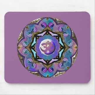 Lavender Moon Mandala Mousepad