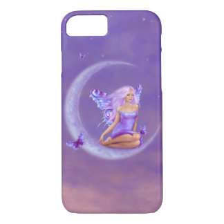 Lavender Moon Purple Butterfly Fairy iPhone 8/7 Case