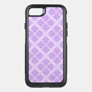 Lavender Moroccan Damask OtterBox Commuter iPhone 8/7 Case